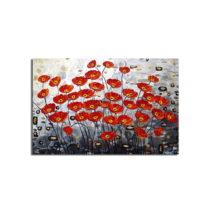 Obraz na plátne Poppy Field, 70×45 cm