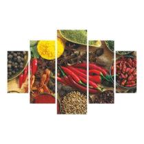 5-dielny obraz Pepper