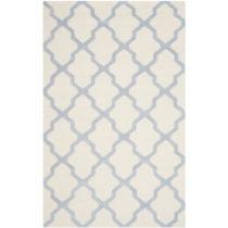 Vlnený koberec Ava Light Blue, 182×274 cm