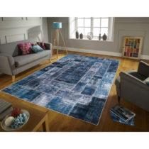 Koberec odolný voči škvrnám Floorita Montage Blue, 160&#xA...