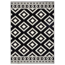 Čierny koberec Hanse Home Gloria Ethno, 200×290cm
