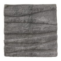 Sivá kúpeľňová predložka Zone Flow, 65 x 65...