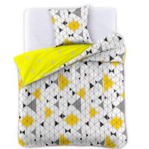 Obliečky na jednolôžko z bavlneného saténu DecoKing G...