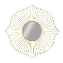 Nástenné zrkadlo Mauro Ferretti Alfha, ⌀130 cm