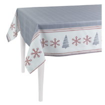 Sivý vianočný obrus Apolena Honey, Trees 140×&#xA...