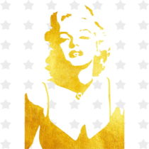 Obraz Canvas Framework Marilyn, 50 x 50 cm