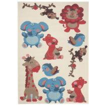 Detský červeno-hnedý koberec Zala Living Animals, 140&#xD7...