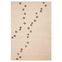 Detský hnedý koberec Zala Living Tepots, 120×170&...