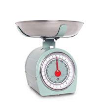 Zelená kuchynská váha Sabich Retro