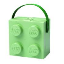 Svetlozelený úložný box s rukoväťou LEGO&...