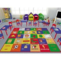 Detský koberec Study Time, 133×190 cm