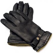 Pánske čierne kožené rukavice Pride & Dignity Logan, ve&am...