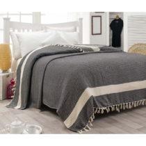 Bavlnená prikrývka cez posteľ Hasir, 200×24...