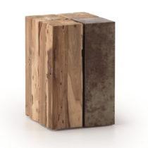 Odkladací stolík z teakového dreva La Forma Ognak