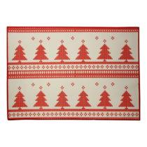 Vianočné prestieranie Christmas Knitting, 35×50 cm