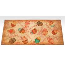 Vysokoodolný kuchynský koberec Webtappeti Cakes, 60×1...