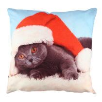 Vankúš Christmas Cat, 43×43&...