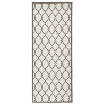 Hnedý vzorovaný obojstranný koberec Bougari Rimini, 80&#xD7...