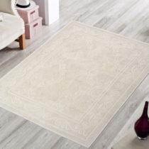 Krémový odolný koberec Vitaus Primrose, 140×...