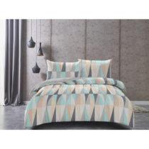 Obliečky z bavlneného saténu DecoKing Pastel Love, 135&#xD...