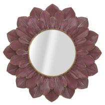 Vínovočervené nástenné zrkadlo Mauro Ferretti Flor, &a...