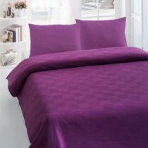 Prikrývka cez posteľ Orgu Maroon, 200x235 cm