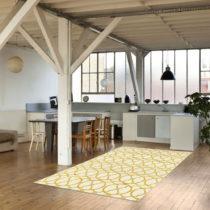 Svetlý vysokoodolný a umývateľný koberec vhodn&#xF...