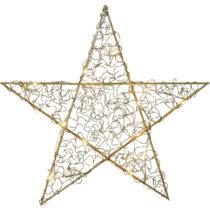 Závesná svietiaca LED dekorácia Best Season Loop Star Bras