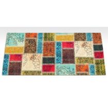 Vysokoodolný kuchynský koberec Webtappeti Patchwork, 60×&#x...