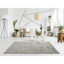 Béžový koberec Universal Hydra Beige, 140 × 200 cm