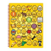 Zošit so špirálovou väzbou LEGO® Iconic