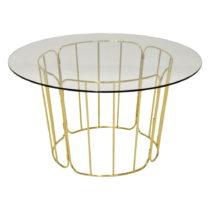 Jedálenský stôl s nohami v zlatej farbe RGE Carrie, ⌀&#xA0...
