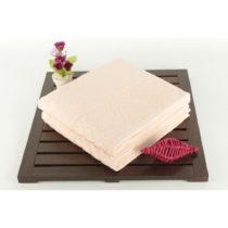 Sada 2 uterákov ružových osušiek zo 100% bavlny Kalp Powder, 5...