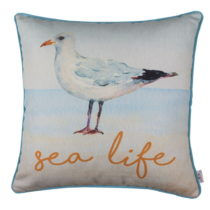 Obliečka na vankúš Apolena Seagull Sea Life, 43×&...