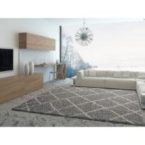 Sivý koberec Universal Kasbah Grey, 160 × 230 cm