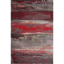 Koberec Eco Rugs Red Abstract, 80 × 150 cm