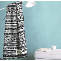 Modrá deka z edície Marie Claire Massy, 130×170&#...