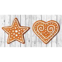 Kuchynský behúň Crido Consulting Gingerbread Hearth, dĺ&#x...