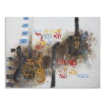 Obraz Mauro Ferretti Guitars Art II, 120 × 90 cm