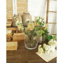 Sklenená váza Orchidea Milano Vetro Living, výška 22 cm