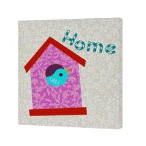 Nástenný obrázok Sweet Home Pink, 27×27 cm
