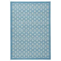 Svetlomodrý koberec Hanse Home Gloria Tile, 80 x 200 cm
