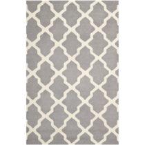 Vlnený koberec Ava Light Grey, 182×274 cm