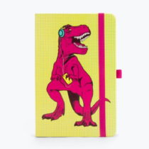 Žltý zápisník Just Mustard T-Rex