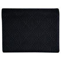 Čierny žakárový obrus Green Gate, 150×&...