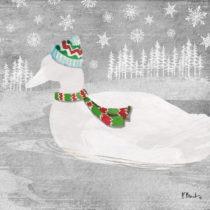 Balenie 10 papierových obrúskov s vianočným motívom PP...