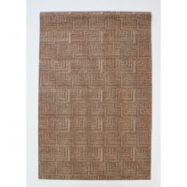 Koberec Pinnacle Brown, 167x233 cm