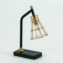 Stolová lampa v zlatej farbe Thai Natura Bhang