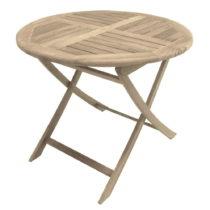 Záhradný skladací stôl z teakového dreva ADDU Solo, &am...