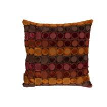 Červeno-oranžový vankúš Dutchbone Ottava, 45&#xA...